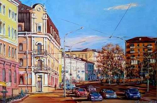 Улица Городской Вал в Минске