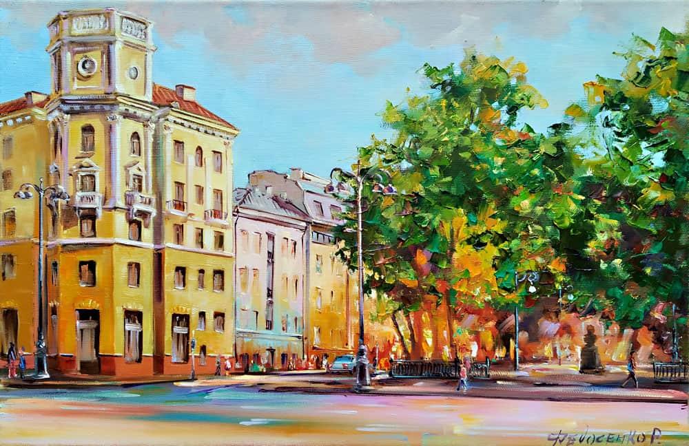 Сквер Дзержинского в Минске Image
