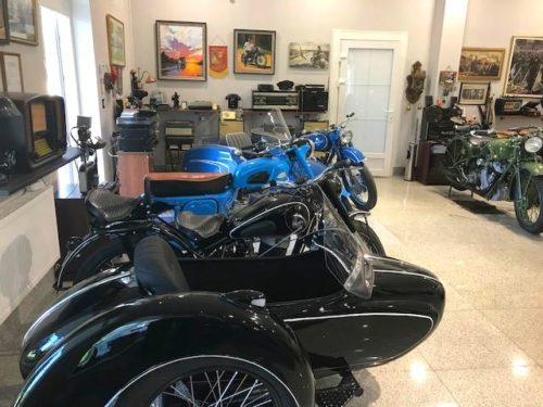 Советские мотоциклы реставрация и музей