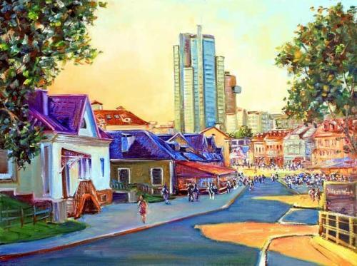 Минск, улица Зыбицкая